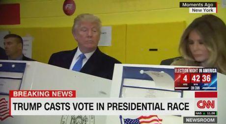 Donald Trump khong tin tuong vo luc bo phieu - Anh 1
