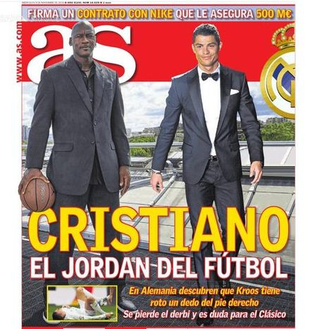 Ronaldo ky hop dong khung, tron doi voi Nike - Anh 2