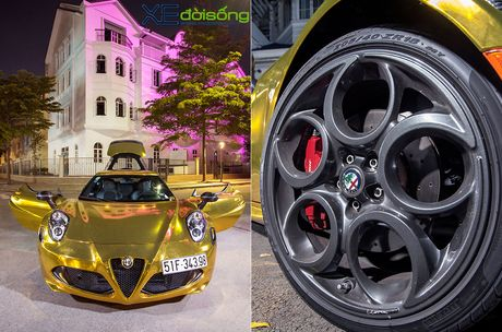 Alfa Romeo 4C doc nhat Viet Nam ong anh nhu thoi vang - Anh 4