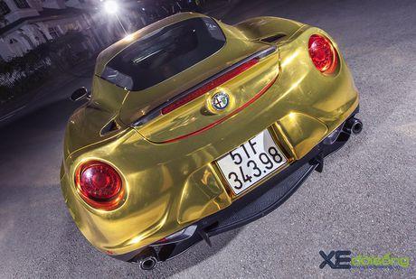 Alfa Romeo 4C doc nhat Viet Nam ong anh nhu thoi vang - Anh 6