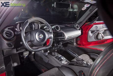 Alfa Romeo 4C doc nhat Viet Nam ong anh nhu thoi vang - Anh 9