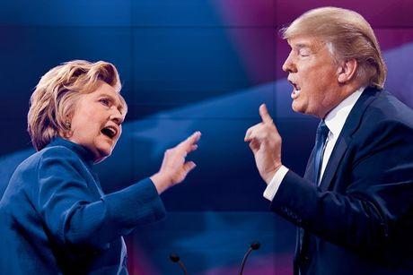 Bau cu Tong thong My: Trump bat ngo bo xa Clinton voi 40 phieu dai cu tri - Anh 1