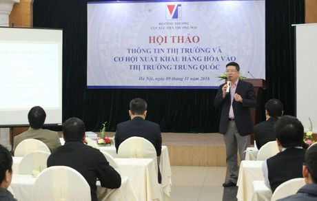 Co hoi cho Viet Nam xuat khau vao thi truong Trung Quoc - Anh 1