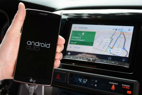 Xe hoi cu van dung duoc Android Auto - Anh 1