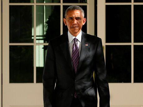 Tong thong Barack Obama chuc mung ong Donald Trump dac cu - Anh 1
