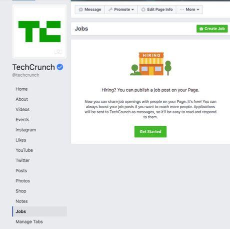 Facebook them tinh nang nham 'chiem dat' cua mang xa hoi tim viec LinkedIn - Anh 1