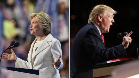 So ke 2 ung vien tong thong Clinton - Trump qua nam thang - Anh 11