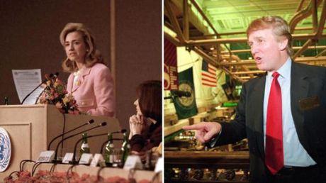 So ke 2 ung vien tong thong Clinton - Trump qua nam thang - Anh 6
