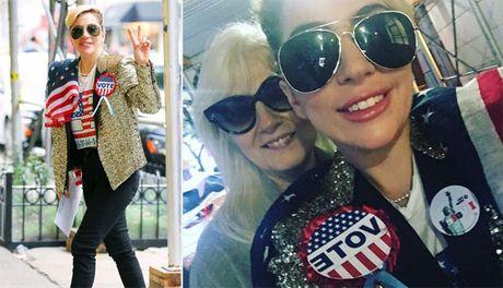 Taylor Swift, Lady Gaga va nhieu sao khac no nuc di bau cu Tong thong My - Anh 4