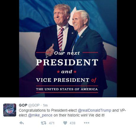 Nguoi ung ho Donald Trump an mung chien thang - Anh 3