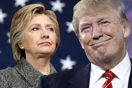 Ba Clinton goi dien chuc mung ong Trump - Anh 1