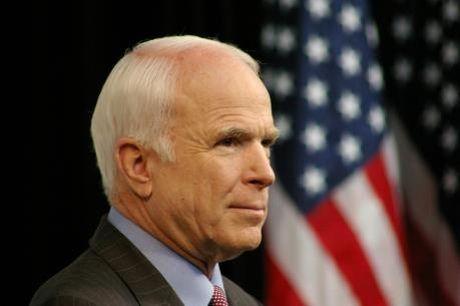 Bau cu My 2016: Thuong nghi si John McCain tai dac cu - Anh 1