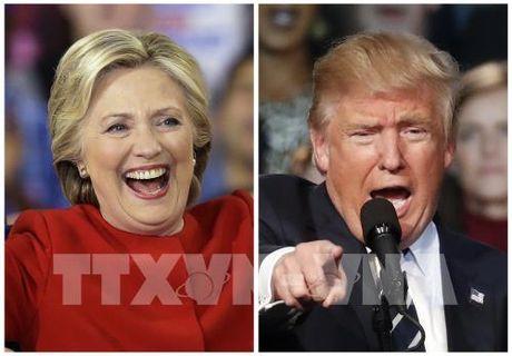 Bau cu My 2016: Ba H.Clinton vuot len dan truoc - Anh 1