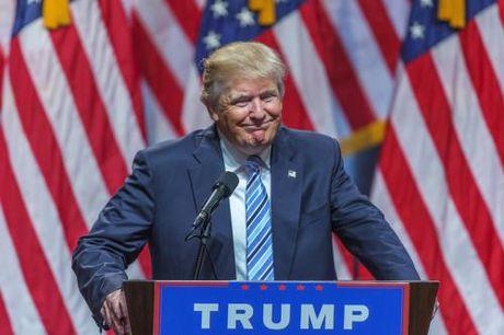 Bau cu My 2016: Ong D.Trump da gianh duoc 264 phieu dai cu tri - Anh 1