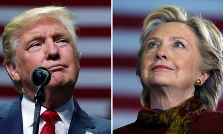 Trump - Clinton so ke quyet liet tai cac bang chien truong cuoi cung - Anh 1