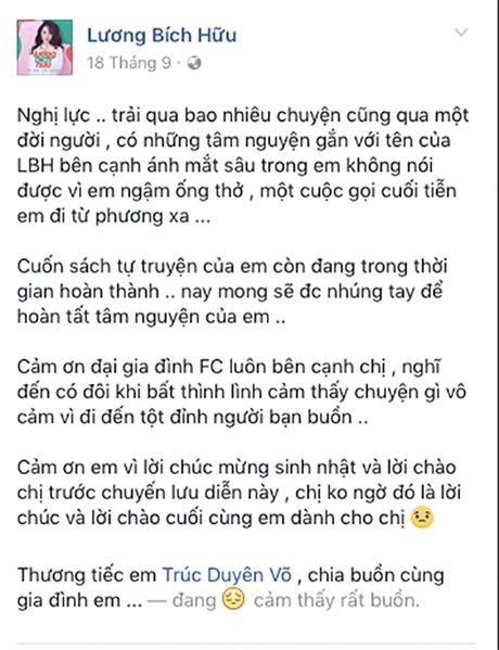 Sao Viet nghen ngao roi nuoc mat truoc su ra di dot ngot cua fan ruot - Anh 4