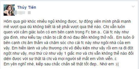 Sao Viet nghen ngao roi nuoc mat truoc su ra di dot ngot cua fan ruot - Anh 7