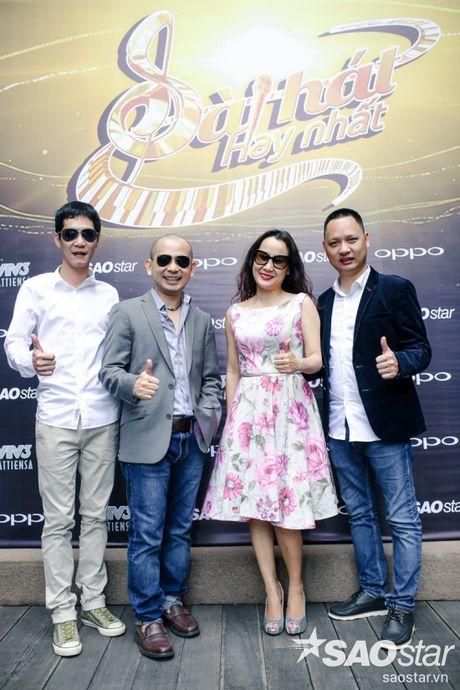 Ung Dai Ve banh bao cung Phan Manh Quynh tai hop bao Sing My Song - Bai Hat Hay Nhat - Anh 8