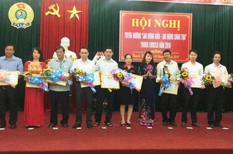 LDLD quan Thanh Khe (Da Nang): Khang dinh chat luong hoat dong cua to cong doan - Anh 1