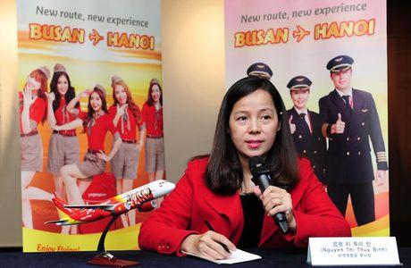 Vietjet mo duong bay Ha Noi - Busan (Han Quoc) - Anh 1