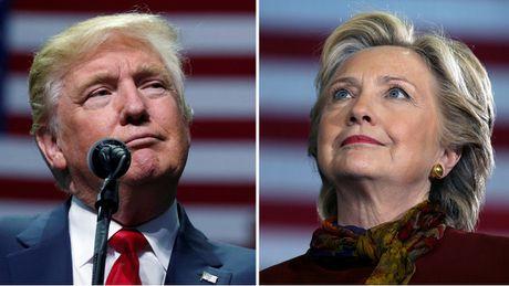 Nguoi My nghi gi ve ba Clinton va ong Trump ngay bau cu tong thong? - Anh 1