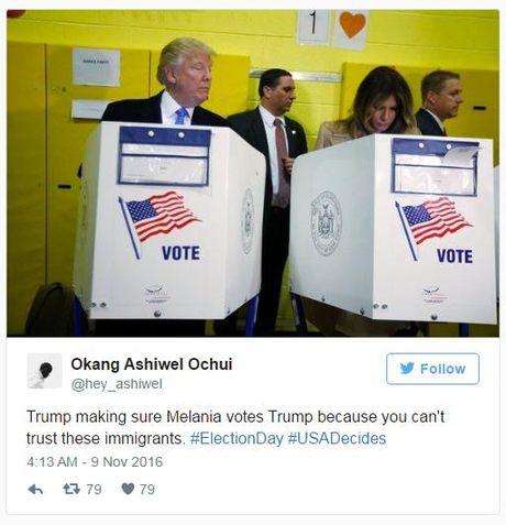 Buc anh nay cua Donald Trump dang 'gay bao' tren mang - Anh 3