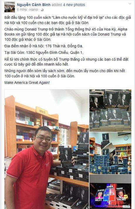 Sach Donald Trump tro nen hot sau khi ty phu My thang cu Tong thong - Anh 2