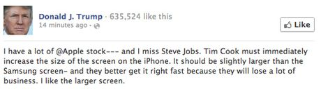 Ong Donald Trump tung 'tweet' nhung gi ve iPhone? - Anh 3