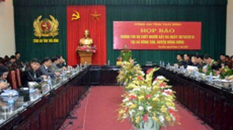 Hop bao thong tin vu chet nguoi xay ra tren QL 39, tinh Thai Binh - Anh 1