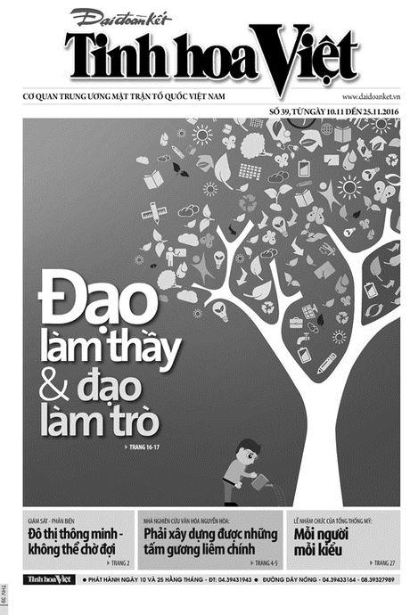 Don doc Tinh hoa Viet so 39, ra ngay 10/11 - Anh 1