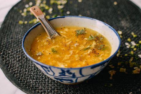 Cach nau sup ga voi trung, ngo don gian - Anh 1