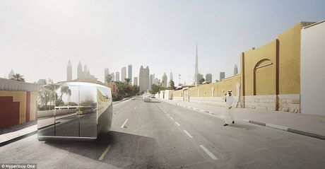 Dubai xay tau sieu toc 1.220 km/h - Anh 6