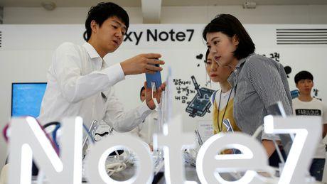 Sau thu hoi, nguoi dung Viet van tim mua Galaxy Note 7 - Anh 1