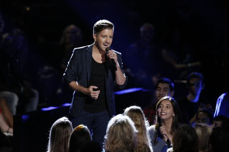 Billy Gilman tai xuat voi The Voice: Toi con gi de mat? - Anh 1