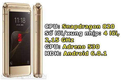 Chiem nguong ve dep smartphone nap gap, gia gan 3.000 USD cua Samsung - Anh 1