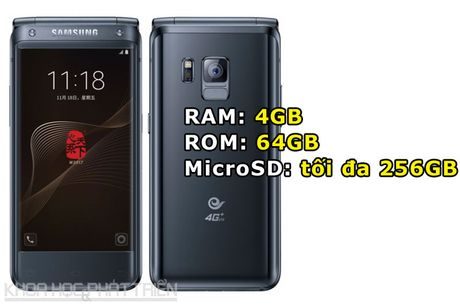 Chiem nguong ve dep smartphone nap gap, gia gan 3.000 USD cua Samsung - Anh 2