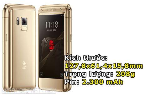 Chiem nguong ve dep smartphone nap gap, gia gan 3.000 USD cua Samsung - Anh 3