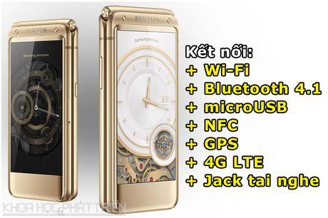 Chiem nguong ve dep smartphone nap gap, gia gan 3.000 USD cua Samsung - Anh 4