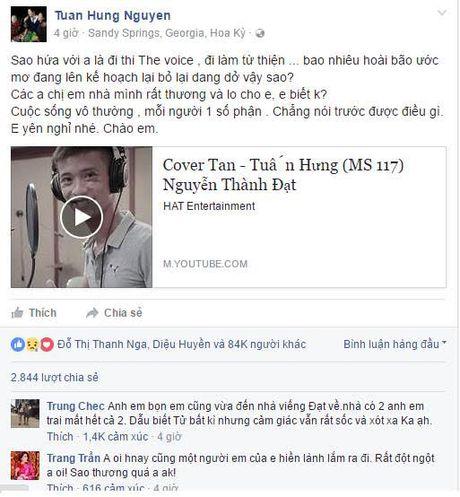 Tuan Hung tiec thuong 'ban sao' 9x qua doi - Anh 3