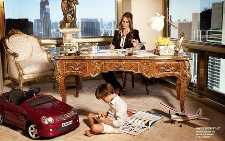 Thoi trang dinh cao cua de nhat phu nhan Melania Trump - Anh 14