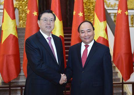 Thu tuong hoi kien Chu tich QH Trung Quoc - Anh 1