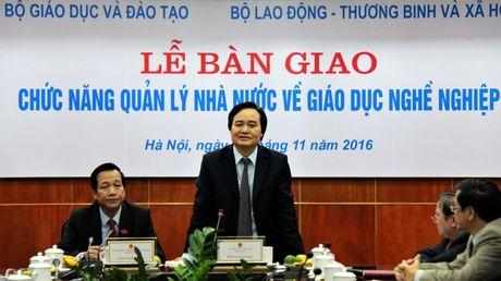 Hon 500 truong CD, TCCN chinh thuc ve Bo Lao dong - Anh 1