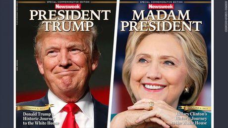 Ket qua bau cu Tong thong My: Ba Clinton bi to gian lan - Anh 1