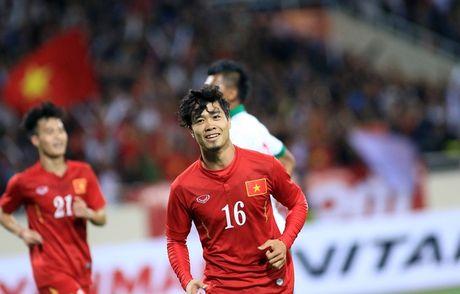 Cong Phuong len tieng sau lan dau ghi ban cho DT Viet Nam - Anh 1