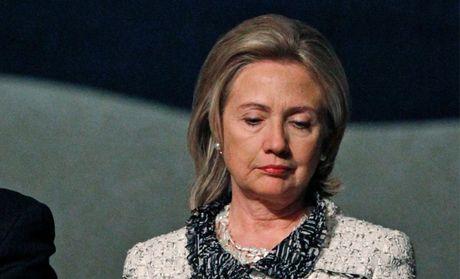 Ba Clinton khong xuat hien, khong phat bieu - Anh 1