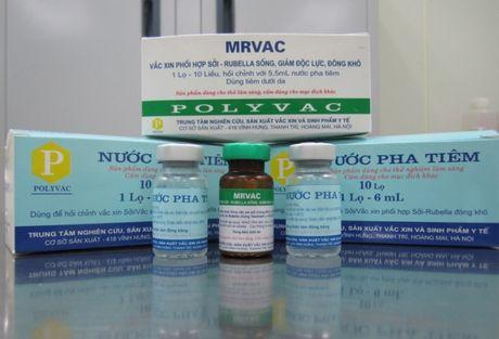 San xuat thanh cong vaccine soi - rubella - Anh 1