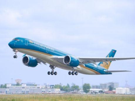 Vietnam Airlines khai thac 30 phut/chuyen tren duong bay Ha Noi - Tp. Ho Chi Minh - Anh 1