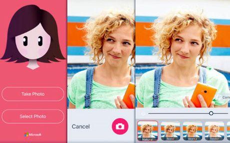 Microsoft Selfie tiep tuc co mat tren Android - Anh 1