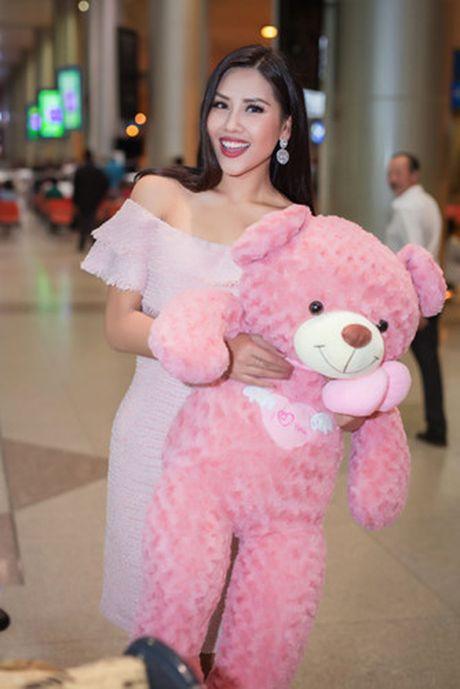 Nguyen Thi Loan rang ro tro ve sau Miss Grand International - Anh 9