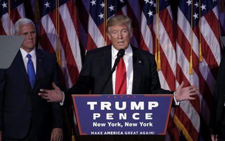 Dan sao My 'ke khoc, nguoi cuoi' khi Donal Trump dac cu Tong thong - Anh 1